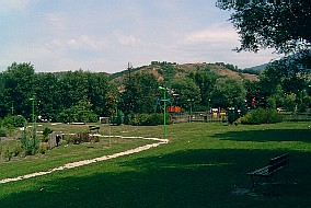 The entrance of the public park (summer 2003)