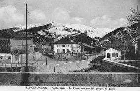 The place and the river Sègre