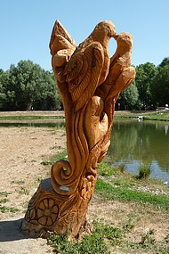 Tree carving for marriage